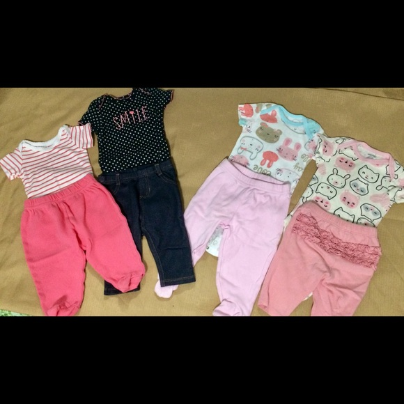 Other - 0-3 months casual bundle 4 outfits